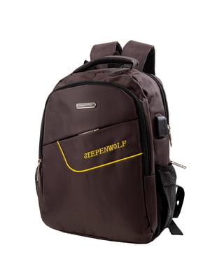 Рюкзак коричневий | 5745714