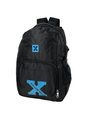 Рюкзак чорний з логотипом   5746833