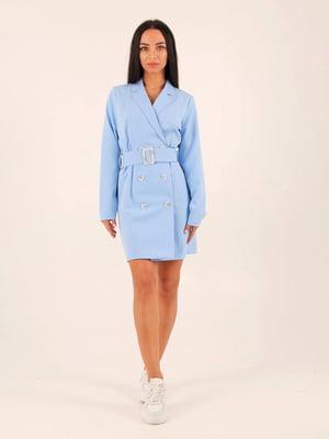 Сукня блакитна | 5763215