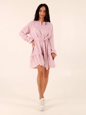 Сукня пудрового кольору | 5763216