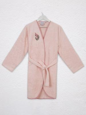 Халат рожевий з малюнком   5546531