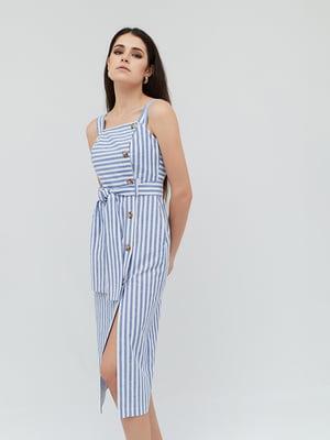 Сукня синьо-біла у смужку   5763222