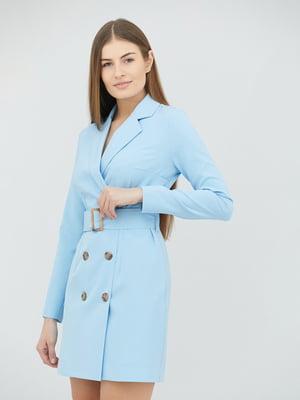 Платье голубое   5763225