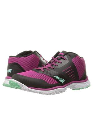 Кросівки чорно-рожеві | 5761228