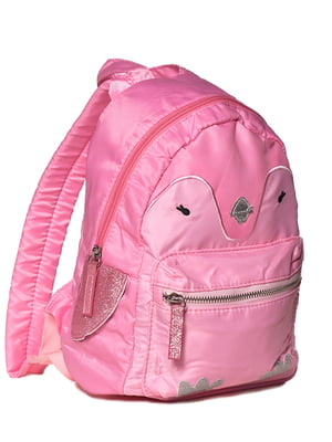 Рюкзак рожевий з вишивкою | 5761368