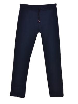 Брюки темно-синие   5761466
