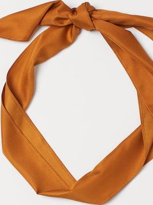 Повязка на голову оранжевая   5762109