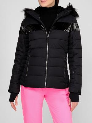 Куртка горнолыжная черная | 5608056