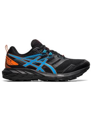 Кросівки чорні з логотипом | 5738593