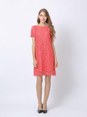 Платье кораллового цвета | 5761689