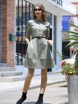 Сукня кольору хакі | 5761832