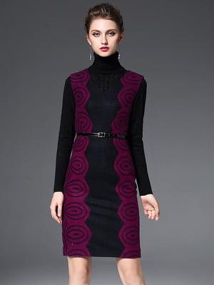 Сарафан чорно-фіолетовий   5761028