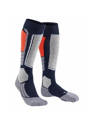 Шкарпетки гірськолижні комбінованого кольору   5598998