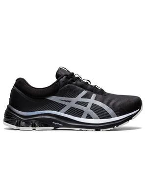 Кросівки чорні з логотипом | 5606516