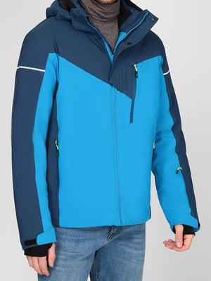 Куртка гірськолижна комбінованого кольору | 5618410