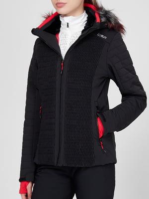 Куртка горнолыжная черная | 5631792