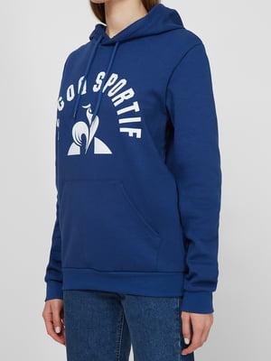 Худі синя з логотипом | 5738404