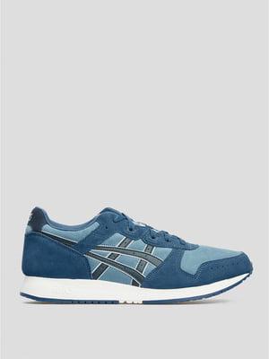 Кросівки сині з логотипом | 5738421