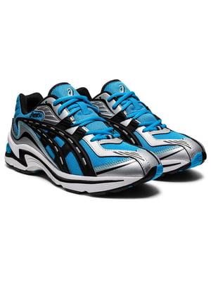 Кросівки комбінованого кольору з логотипом | 5738453