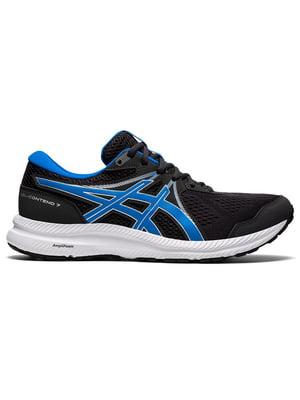 Кросівки чорні з логотипом | 5738496