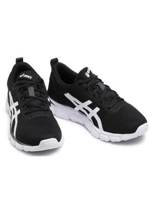 Кросівки чорні з логотипом | 5738511