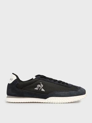 Кросівки чорні з логотипом | 5738618