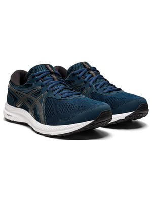 Кросівки сині з логотипом | 5738628