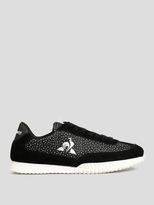 Кросівки чорні з логотипом | 5738889