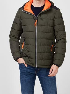 Куртка цвета хаки | 5738913
