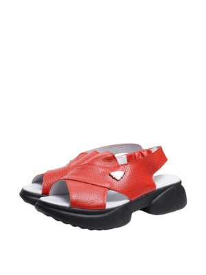 Босоніжки червоні | 5764041