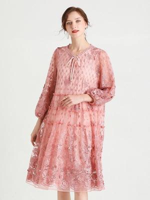 Платье пудрового цвета   5764241