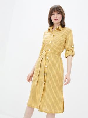 Платье желтое | 5766609
