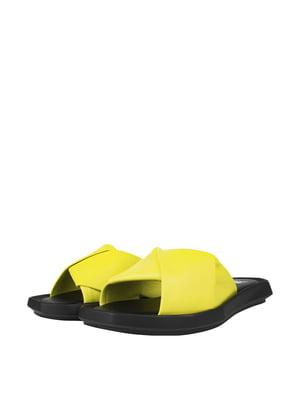 Шльопанці жовті | 5766595