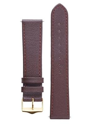 Ремінець для годинника коричневий   5768020