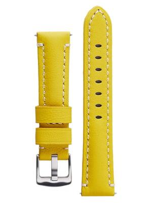 Ремінець для годинника жовтий   5768037