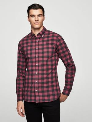 Рубашка красная в клетку   5767691