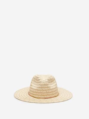 Шляпа бежевая   5768572
