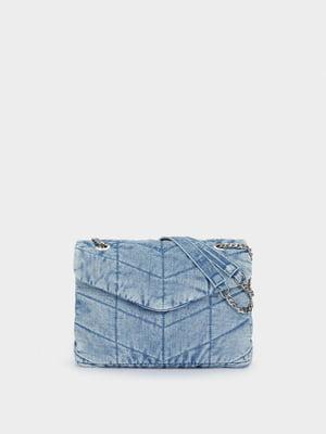 Сумка джинсовая синяя | 5769691