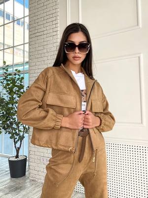 Куртка коричневая | 5770074