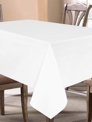 Скатертина біла (150х150 см) | 5767082