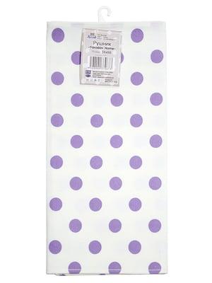 Полотенце белое в горошек (34х66 см) | 5767100