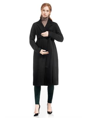 Пальто для беременных черное | 5770497