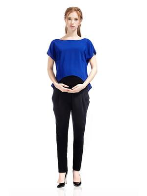 Брюки для беременных черные | 5770503