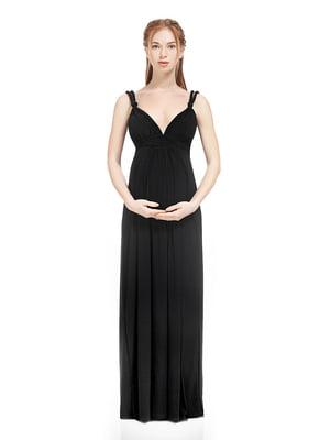 Платье для беременных черное | 5770504
