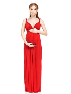 Платье для беременных красное | 5770505