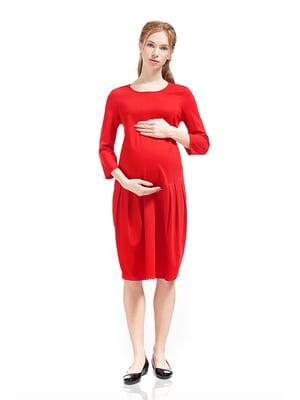 Сукня для вагітних червона   | 5770509