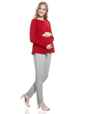 Штани для вагітних світло-сірі | 5770527