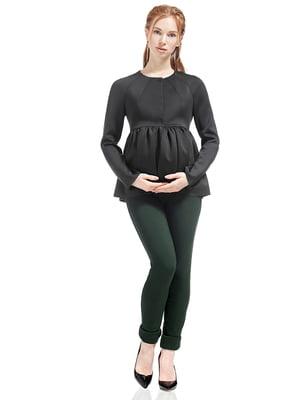 Жакет для беременных темно-серый | 5770532