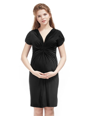 Платье для беременных черное | 5770545