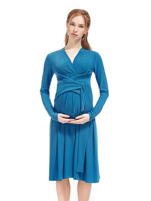 Сукня для вагітних синя   5770553